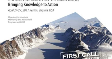 2017 International Conference on Arctic Science: Bringing Knowledge to Action